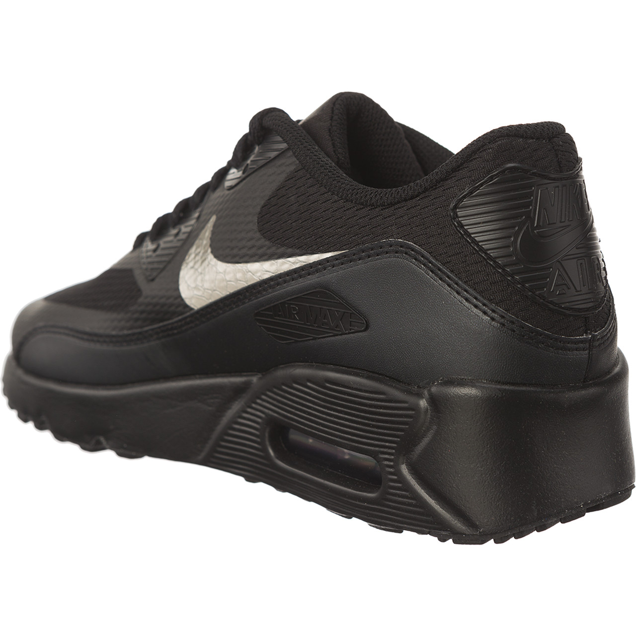 Buty Nike  <br/><small>AIR MAX 90 ULTRA 2.0 GS BLACK/BLACK/METALLIC PEWTER </small>  869950-011