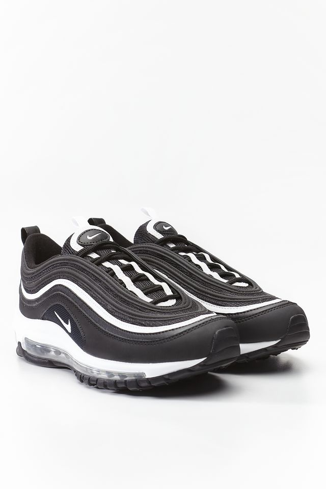 Nike AIR MAX 97 GS 009 BLACK/WHITE/METALLIC SILVER 921522-009