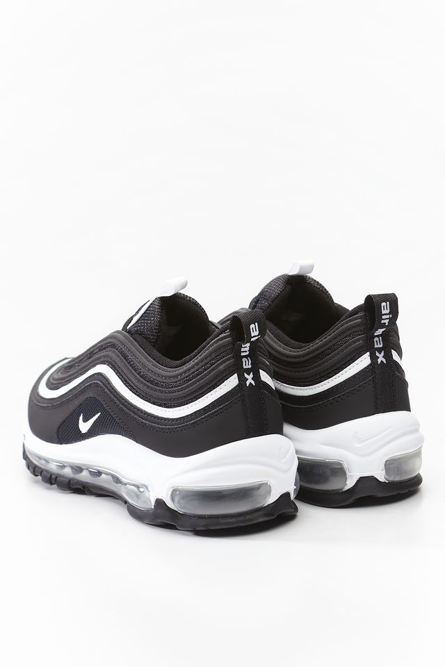 Buty Nike  <br/><small>AIR MAX 97 GS 009 BLACK/WHITE/METALLIC SILVER </small>  921522-009
