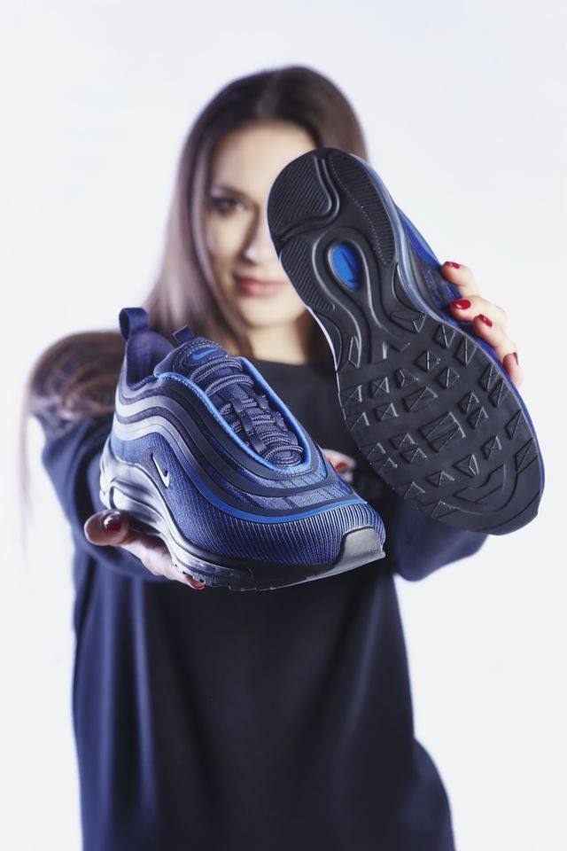best service 3675b cfb98 Buty Nike AIR MAX 97 UL 17 GS 403 RACER BLUE/BLACKENED BLUE - eastend.pl