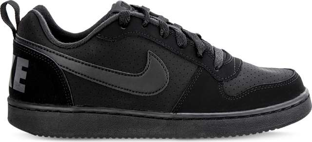 Nike COURT BOROUGH LOW GS 001 BLACK/BLACK/BLACK 839985-001