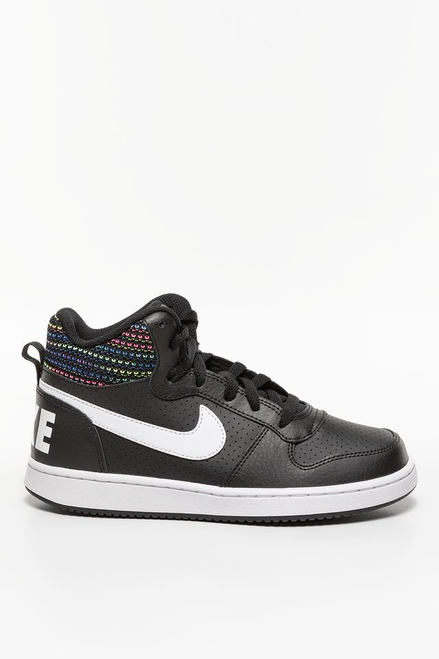 Nike COURT BOROUGH MID SE GS 005 BLACK 918340-005