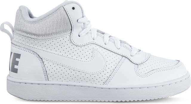 Nike COURT BOROUGH MID 100 WHITE/WHITE/WHITE 839977-100