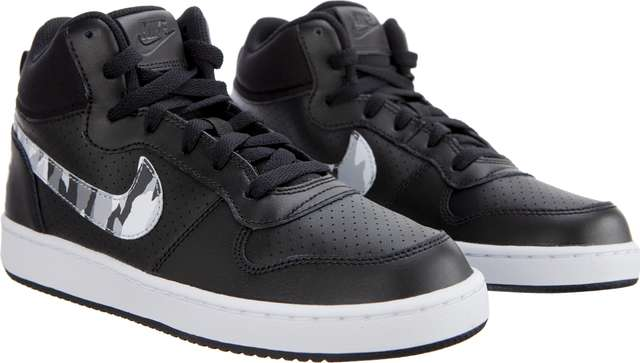 Buty Nike  <br/><small>COURT BOROUGH MID GS 008 BLACK/MULTI-COLOR </small>  839977-008
