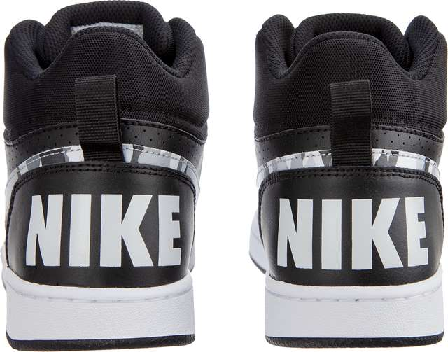 ... Buty Nike  br   small COURT BOROUGH MID GS 008 BLACK  2777582255138