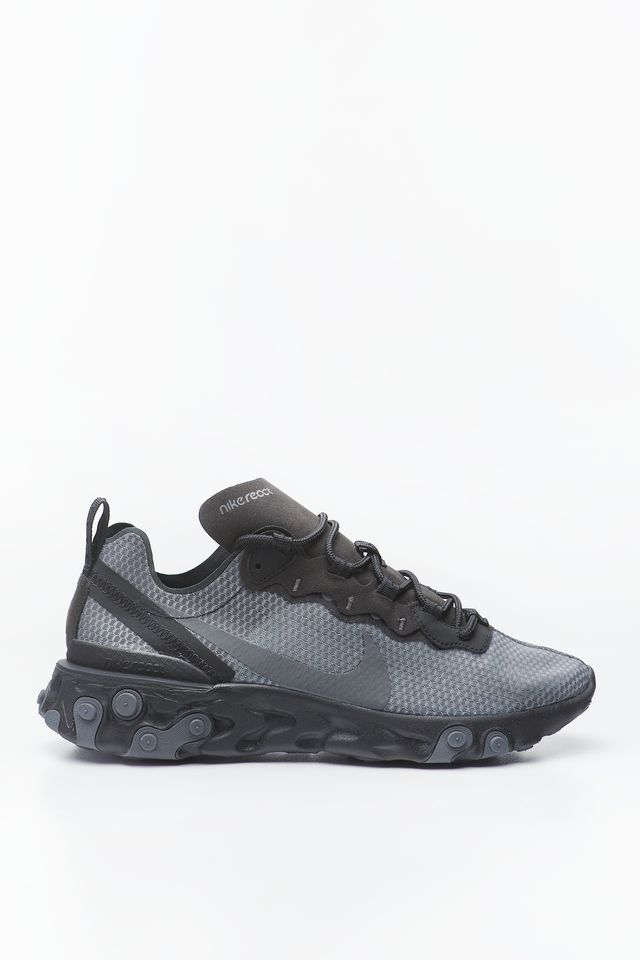 Nike REACT ELEMENT 55 SE 001 BLACK/DARK GREY CI3831-001