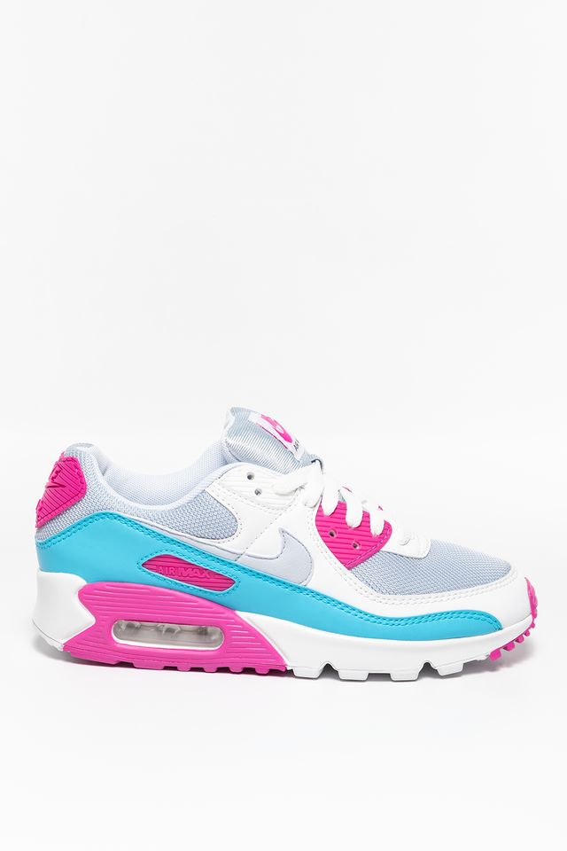 WHITE/BLUE/PINK W Air Max 90 CT1030-001