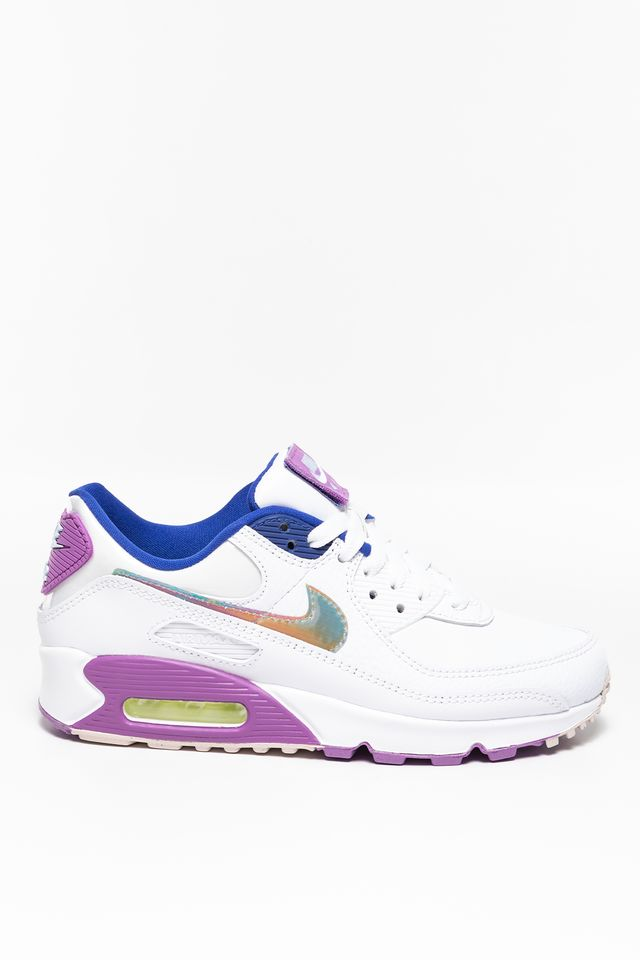 Nike W Air Max 90 SE 623 WHITE / MULTI COLOR / PURPLE NEBULA CJ0623-100