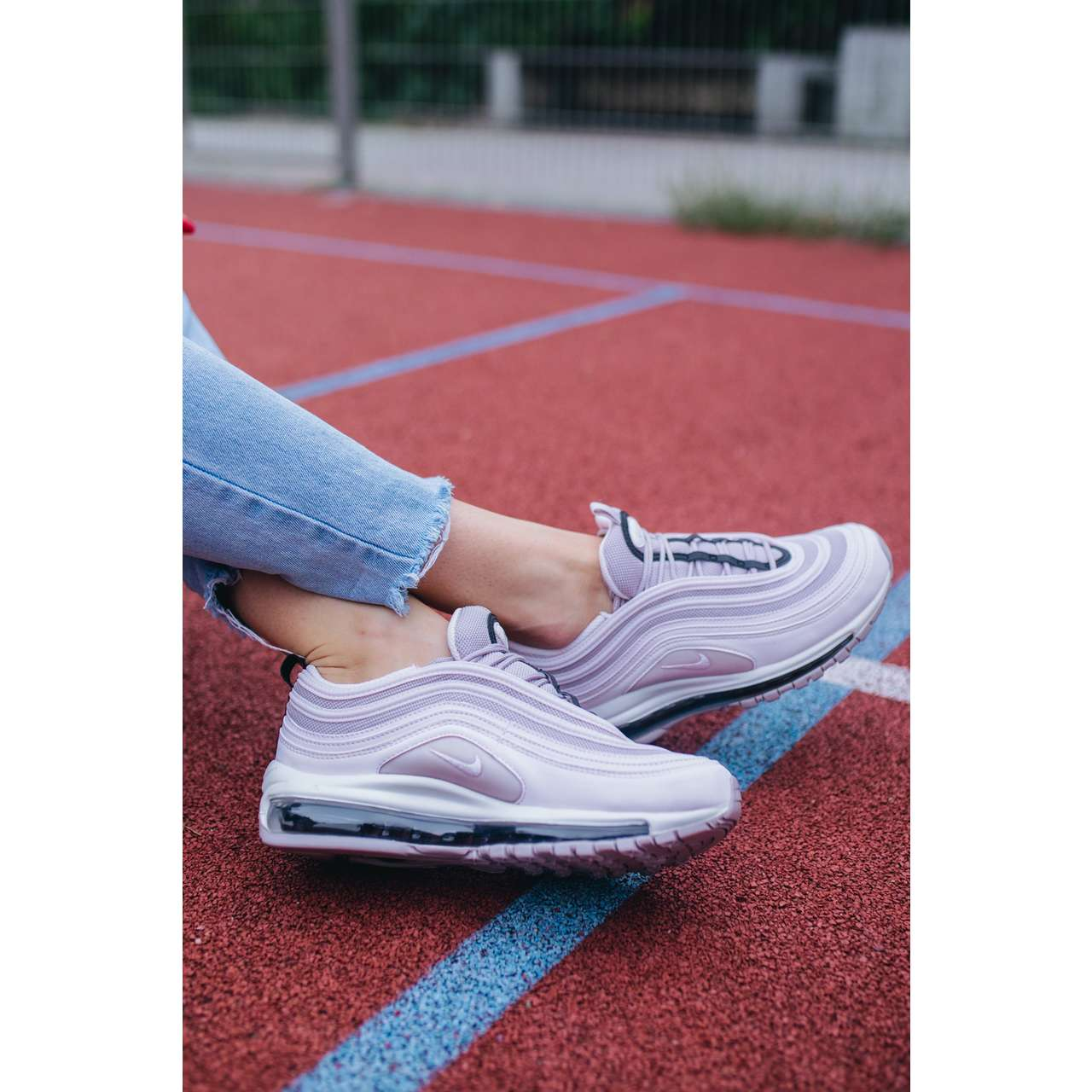 Buty Nike  <br/><small>W AIR MAX 97 602 PALE PINK/PALE PINK/VIOLET ASH </small>  921733-602