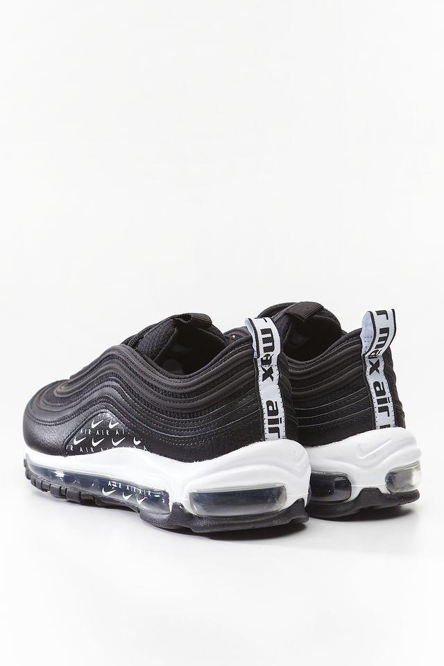 Nike AIR MAX 97 GS 009 BLACK WHITE METALLIC SILVER 36,5