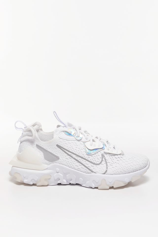 White/White/Particle Grey W NSW REACT VISION ESS CW0730-100
