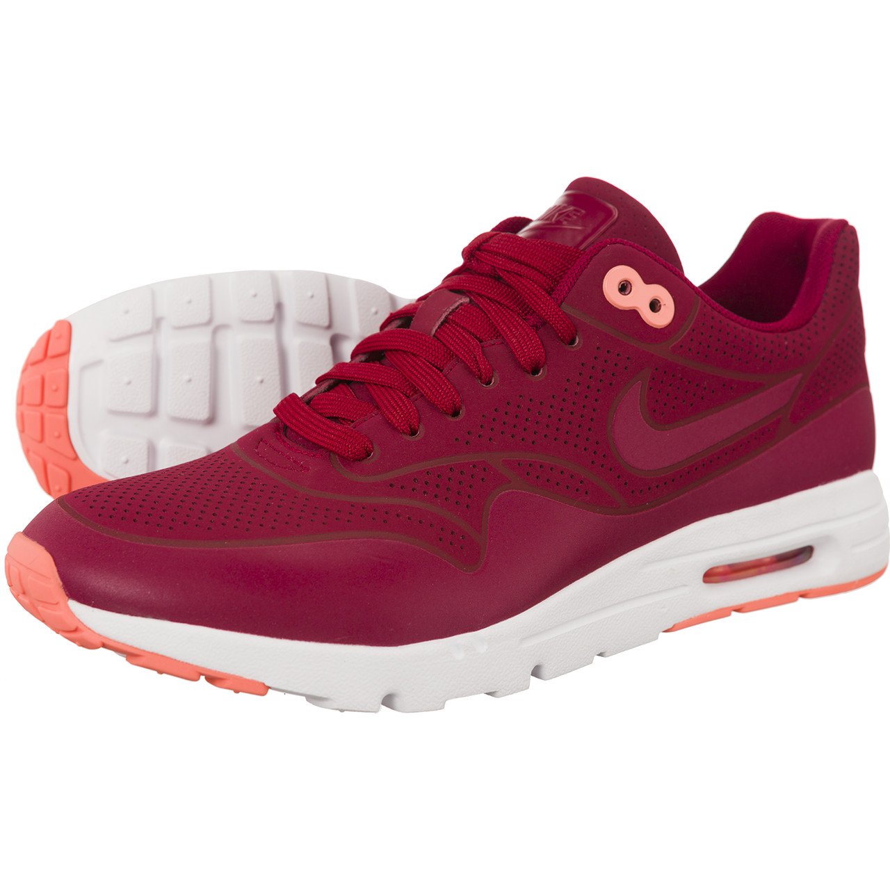 NIKE AIR MAX 1 ULTRA MOIRE NOBLE RED oryginalne