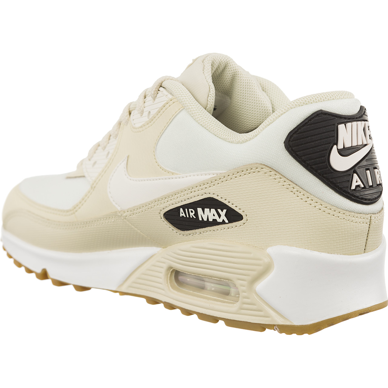Buty Nike  <br/><small>WMNS Air Max 90 FOSSIL/SAIL-BLACK-GUM LIGHT BROWN </small>  325213-207