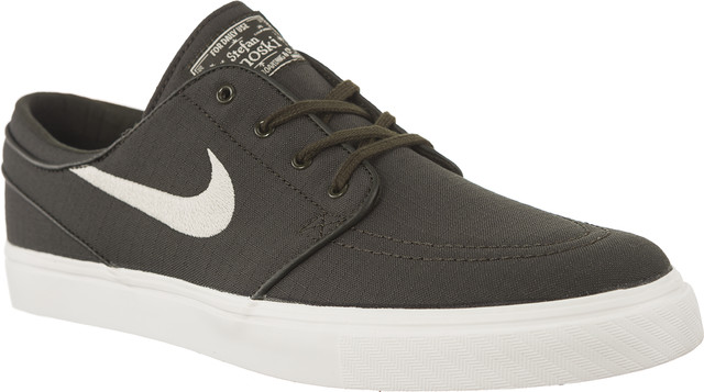 Nike ZOOM STEFAN JANOSKI CANVAS sequoia/light bone/summit white/medium olive/elemental pink 615957-304