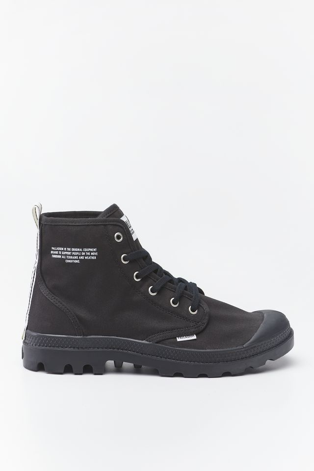 BLACK/WHITE PAMPA HI DARE 002