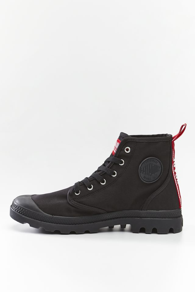 Buty Palladium  <br/><small>PAMPA HI DARE 008 BLACK </small>  76258-008