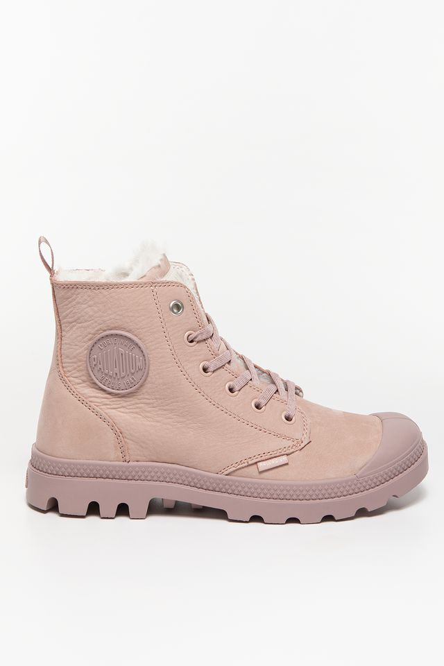 Palladium PAMPA HI ZIP WL 671 ROSE DUST/FAWN 95982-671