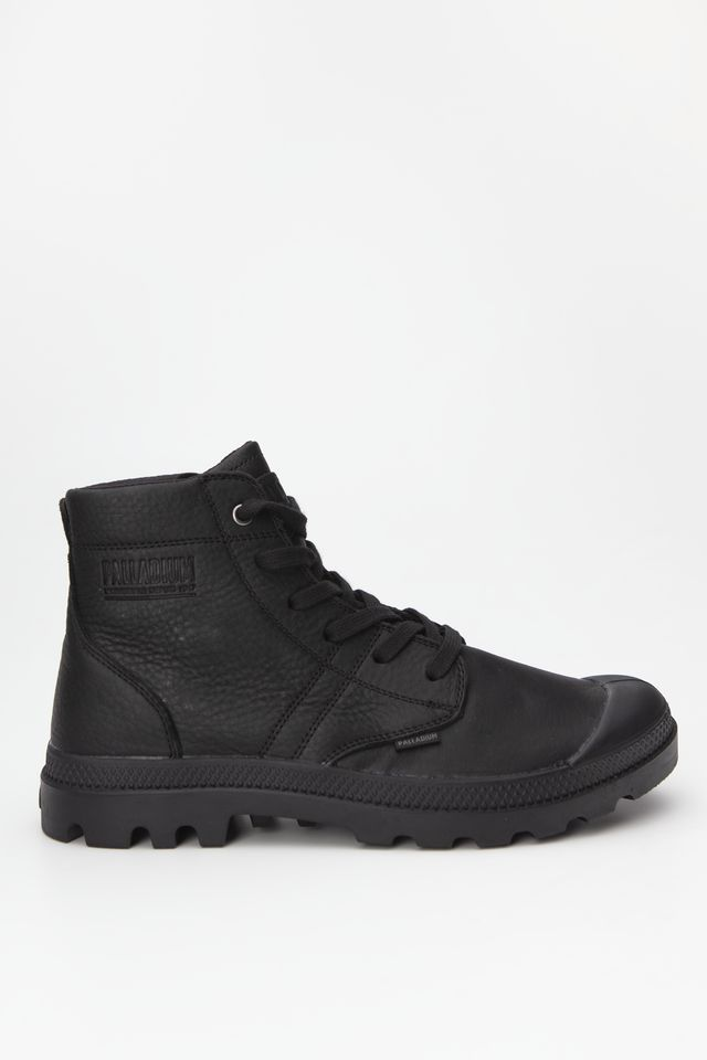 Palladium PALLABROUSSE LEATHER 010 BLACK/BLACK 05980-010