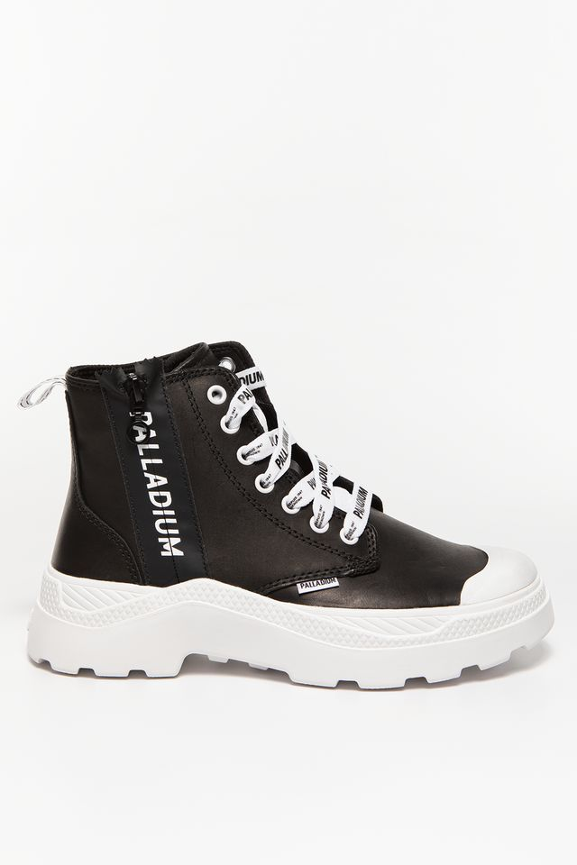 Palladium PLKIX HI ZIP U 902 BLACK / WHITE 76902-002