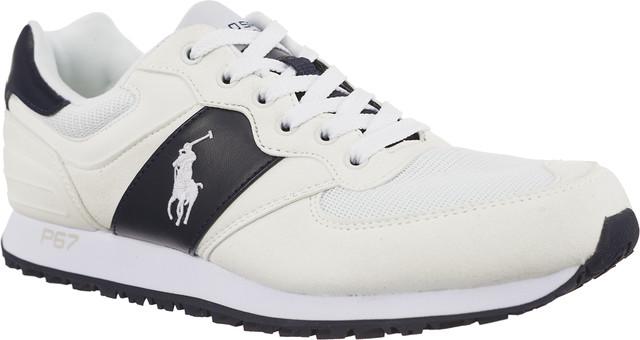 Polo Ralph Lauren SLATON PONY WHITE/NEWPORT NAVY 809580124006