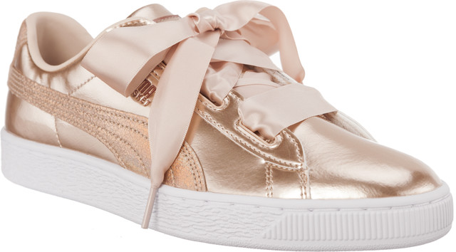 Buty Puma  <br/><small>BASKET HEART LUNAR LUX JR CREAM TAN </small>  36599302