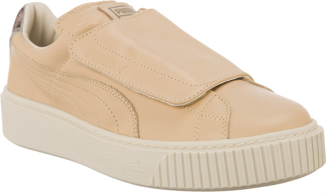 Puma Platform Strap Up Wn s Natural 101 36495101