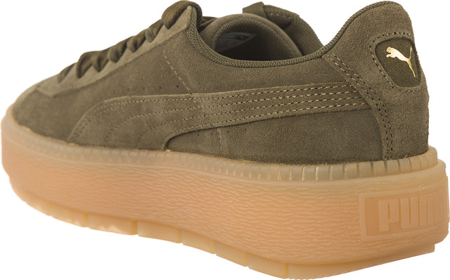 Buty Puma  <br/><small>SUEDE PLATFORM TRACE OLIVE NIGHT </small>  36583003