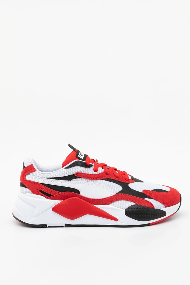 PUMA WHITE/HIGH RISK RED RS-X SUPER 01