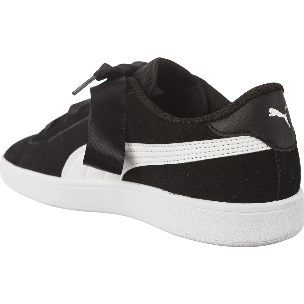 Buty Puma  <br/><small>SMASH V2 RIBBON PUMA BLACK/PUMA WHITE </small>  36600301