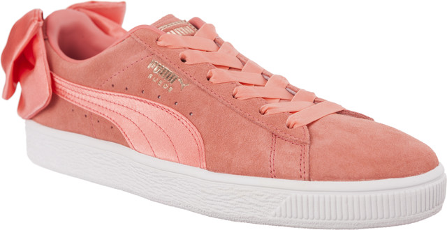 Puma SUEDE BOW WN S SHELL PINK/SHELL PINK 36731701