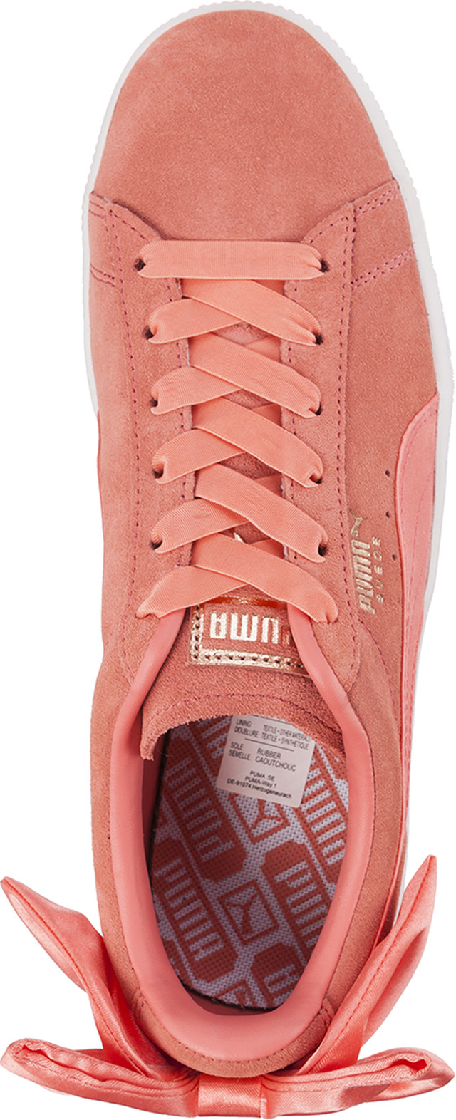 Buty Puma  <br/><small>SUEDE BOW WN S SHELL PINK/SHELL PINK </small>  36731701