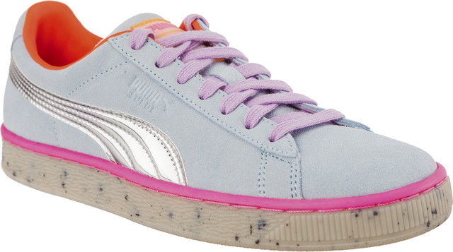 Puma SUEDE CANDY PRINCESS SOPHIA WEBSTER CORYDALIS BLUE/PUMA SILVER 36613301