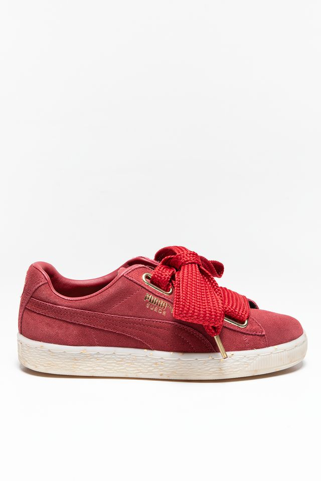 Puma SUEDE HEART CELEBRATE WNS RED DAHLIA 36556102