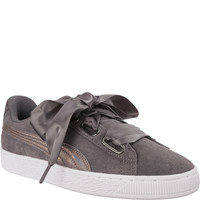 Puma SUEDE HEART LUNALUX WN S SMOKED PEARL 36611401
