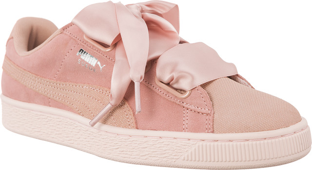 Buty Puma  <br/><small>SUEDE HEART PEBBLE PEACH BEIGE/PEARL </small>  36521001