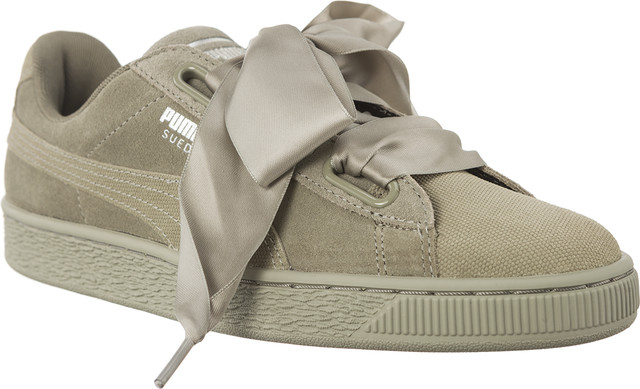 Puma SUEDE HEART PEBBLE ROCK RIDGE/ROCK RIDGE 36521002