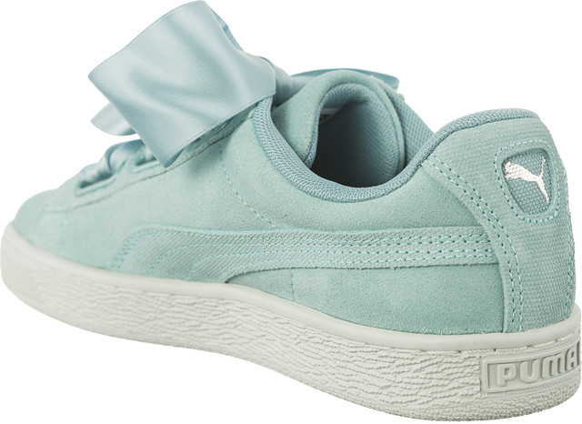 Buty Puma  <br/><small>SUEDE HEART PEBBLE AQUIFER/BLUE FLOWER </small>  36521003