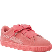 Buty Puma Suede Heart SNK Jr 36491805 SHELL PINK/SHELL PINK