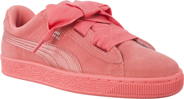 Puma SUEDE HEART SNK SHELL PINK/SHELL PINK 36491805