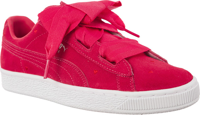 Puma SUEDE HEART VALENTINE PARADISE PINK/PARADISE PINK 36513501