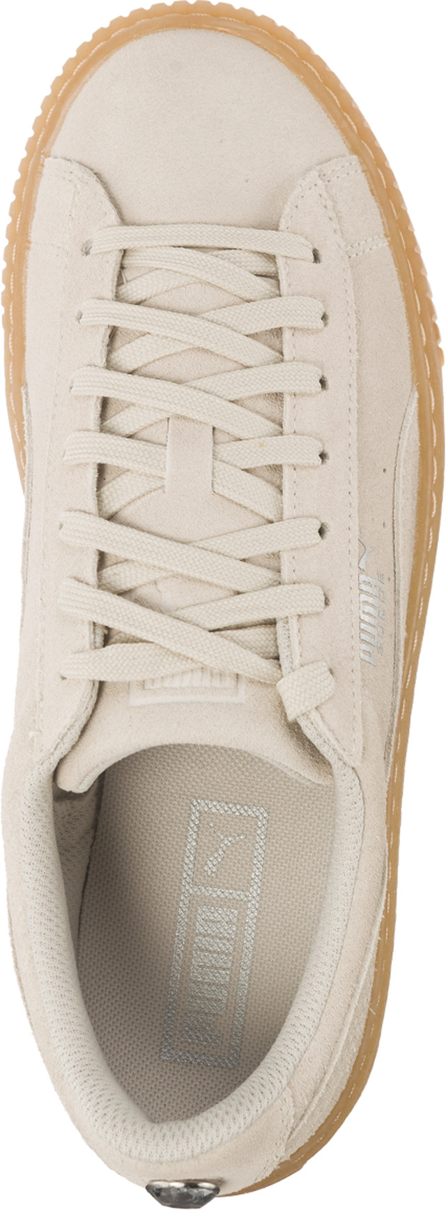 Buty Puma  <br/><small>SUEDE PLATFORM JEWEL WHISPER WHITE/WHISPER WHITE </small>  36513102