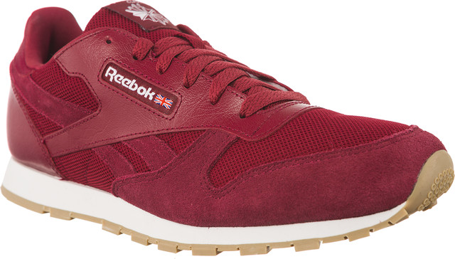 Reebok CLASSIC LEATHER ESTL URBAN MAROON/WHITE CN1134