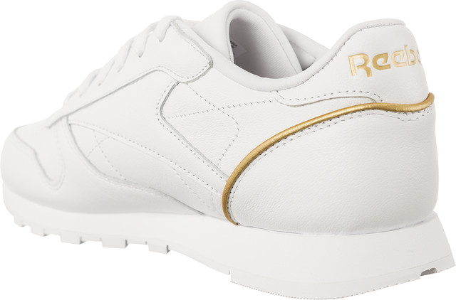 Buty Reebok  <br/><small>CLASSIC LEATHER HW WHITE/SLEEK MET </small>  BS9878