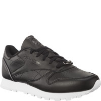 Buty Reebok CL LTHR HW BS9879 BLACK/SILVER METALLIC/WHITE
