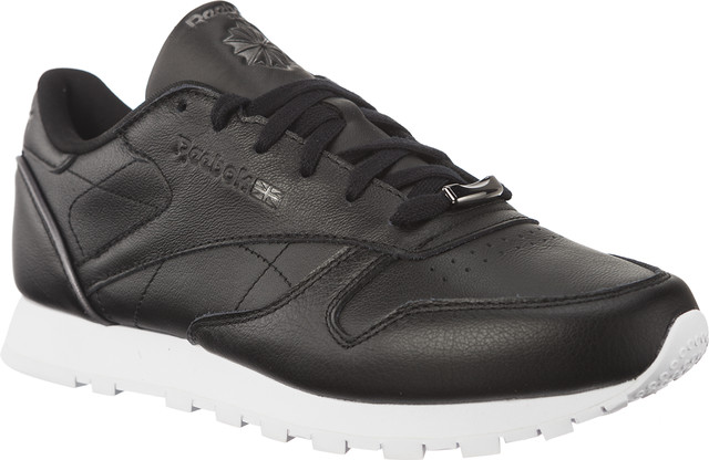 Reebok CLASSIC LEATHER HW BLACK/SILVER METALLIC/WHITE BS9879