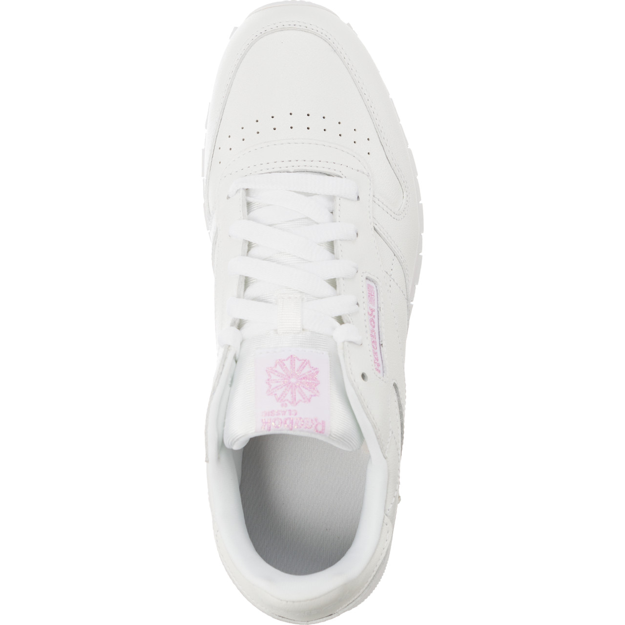 Buty Reebok  <br/><small>CLASSIC LEATHER METALLIC WHITE </small>  CM9323