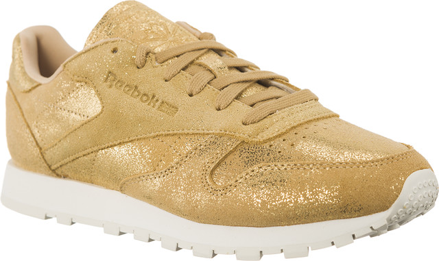 Reebok CLASSIC LEATHER SHIMMER Gold/Chalk CN0574