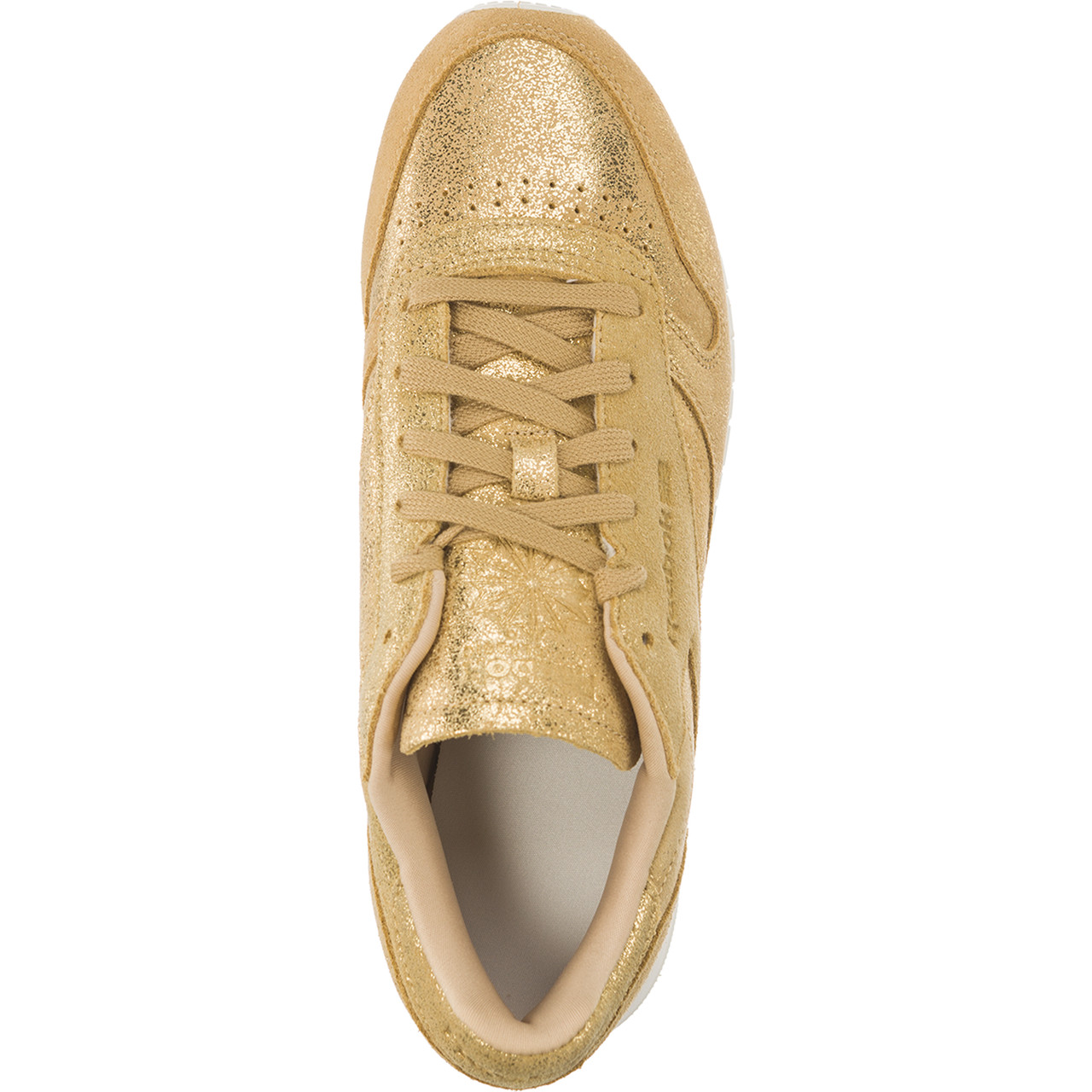 Buty Reebok  <br/><small>CLASSIC LEATHER SHIMMER Gold/Chalk </small>  CN0574