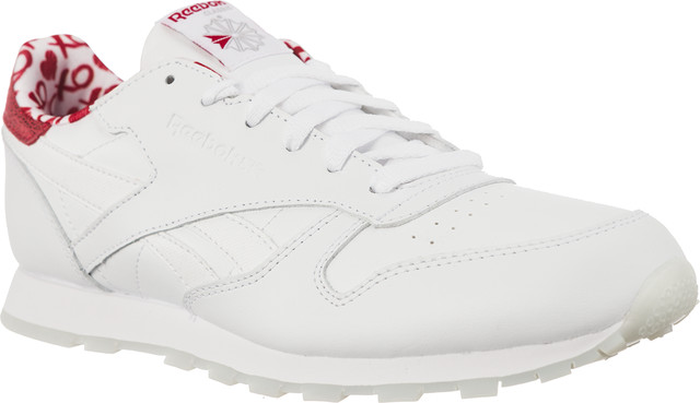 Reebok CLASSIC LEATHER VALENTINE'S DAY 191 White/Power Red CM9191