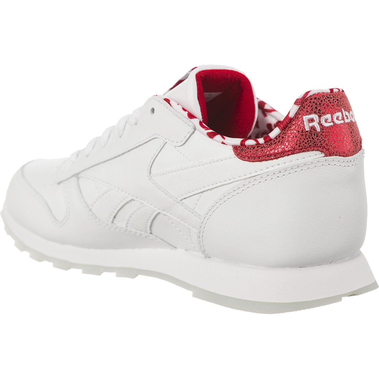 Buty Reebok  <br/><small>CLASSIC LEATHER VALENTINE'S DAY 191 White/Power Red </small>  CM9191